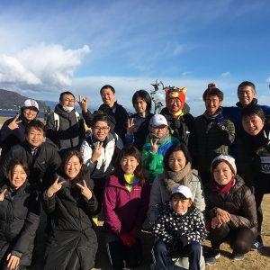 伊東オレンジビーチマラソン大会2017に集結!こころねランナーズクラブ5期生レポート