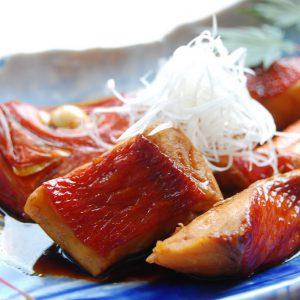 【動画】「お食い初め」ご自宅でもこころねの金目鯛の煮付け。通販でお祝いの魚をお届け。