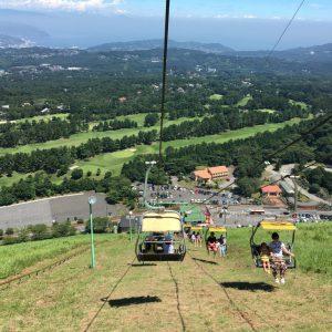 【動画】伊豆・伊東屈指のパワースポット大室山とは。大室山リフト下りからの景色
