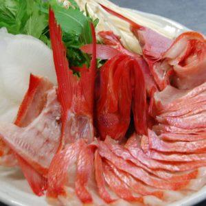 「ご宿泊プラン紹介」伊豆・下田産金目鯛使用!ぷりっぷりの金目鯛のしゃぶしゃぶコース
