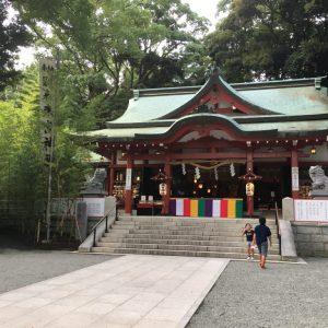 パワースポット熱海来宮神社。JR伊東線来宮駅から徒歩5分