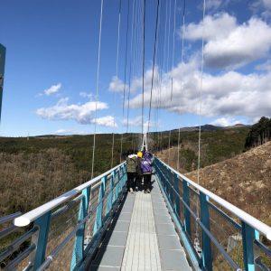 三島スカイウォーク。富士山を望む絶景と日本最長の吊橋。ラグジュアリートイレは必見!