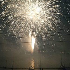 伊東の海上花火大会